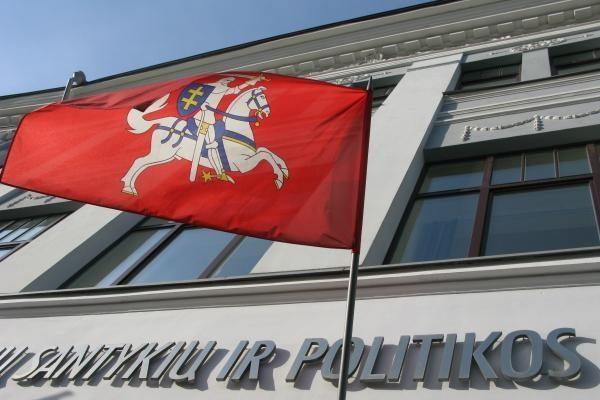 Vilniaus universiteto padalinyje - diskusija apie neramumus euro zonoje