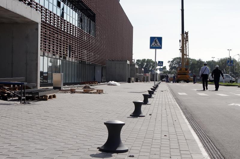 Klaipėdos arenos statybos – vėl be pabaigos