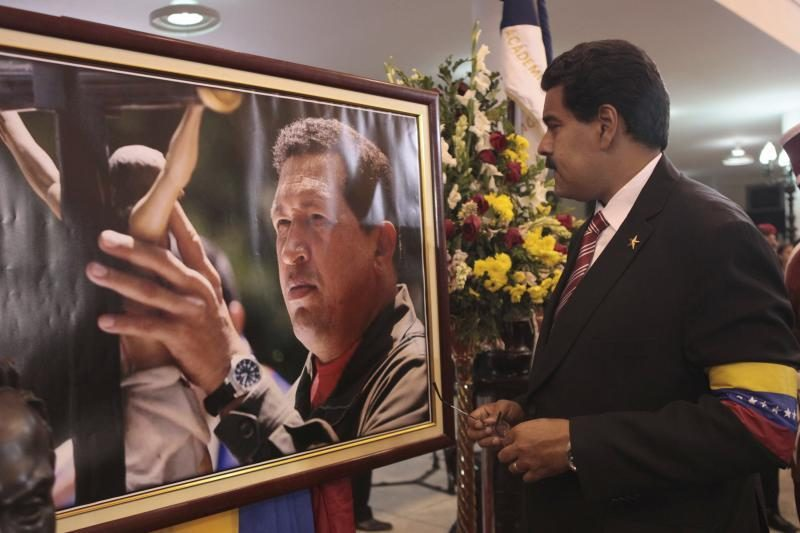 Venesuelos prezidento rinkimai paskirti balandžio 14 dieną