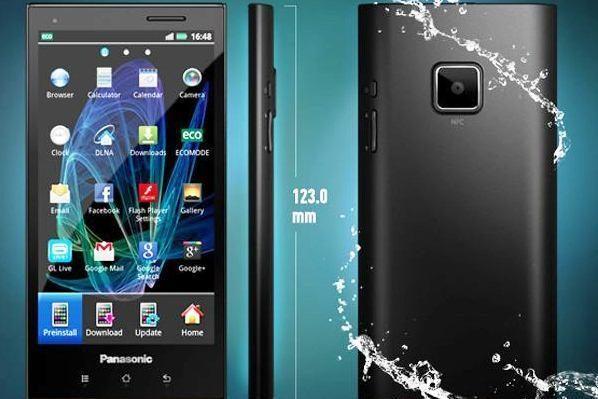 """""""Panasonic"""" pristatė Europai skirtą išmanųjį telefoną ELUGA"""