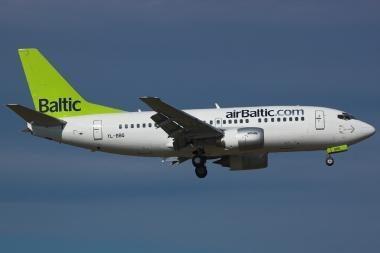 """airBaltic"" akiratyje - Vilnius"