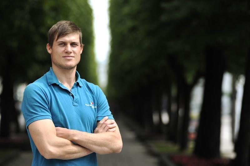 R.Milevičius po devintojo plaukimo pakilo į 40-ąją vietą