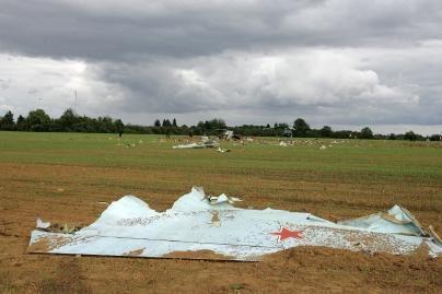 Rusijoje sudužus naikintuvui žuvo pilotas