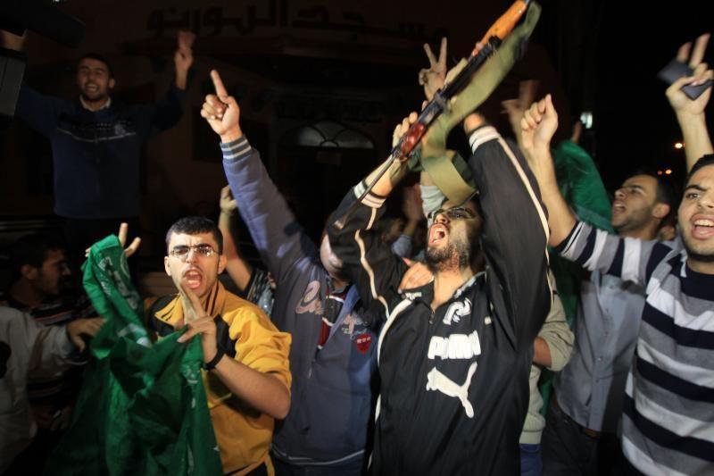 Žydai ir palestiniečiai sutarė dėl paliaubų