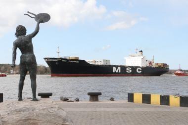 E.Masiulis - ne prieš, kad Klaipėdos uostas sulauktų privataus kapitalo
