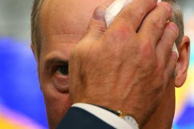 A.Lukašenkos atostogos Austrijoje pakvipo dideliu skandalu