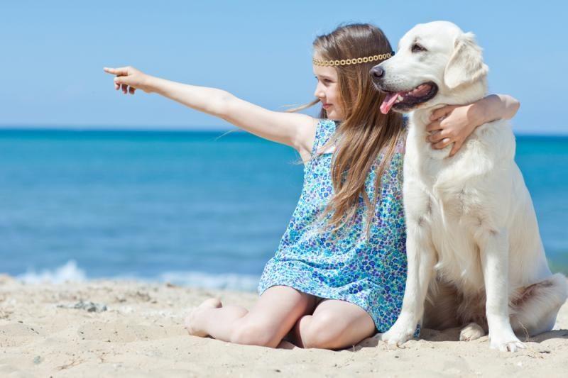 Vaikai, augantys šuns draugijoje, serga rečiau