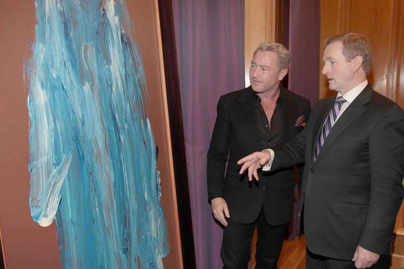 """""""Lord Of The Dance"""" šokių karalius atrado naują talentą (foto)"""