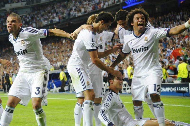 """Madrido """"Real"""" dramatiškai įveikė """"Manchester City"""" 3:2"""