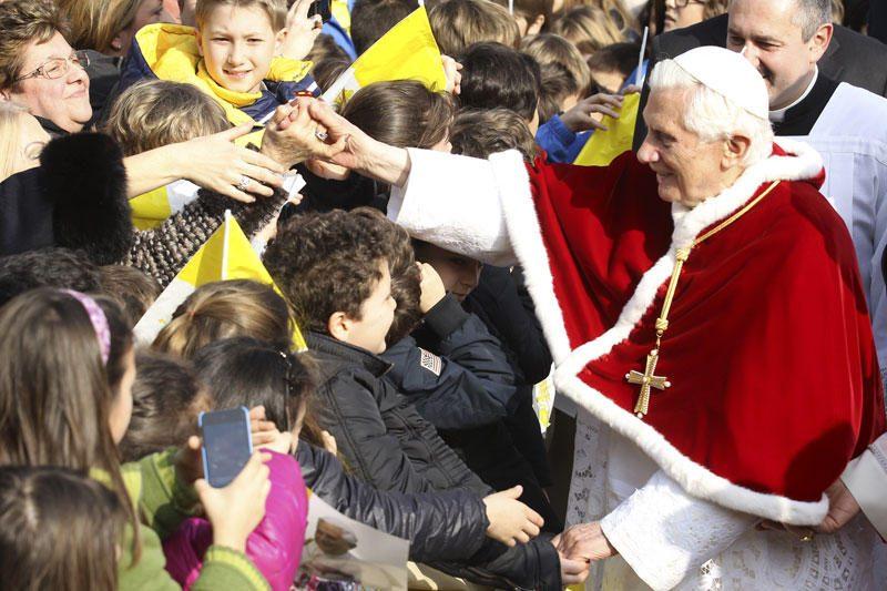 Popiežius atvyko į Milaną - propaguos tradicines vertybes