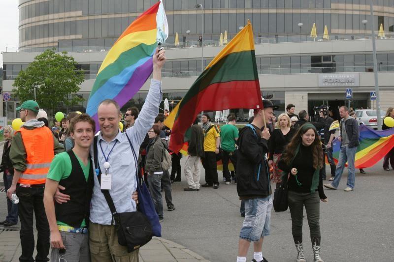 """Vasarą Vilniuje turėtų vykti homoseksualų eitynės """"Baltic Pride"""""""