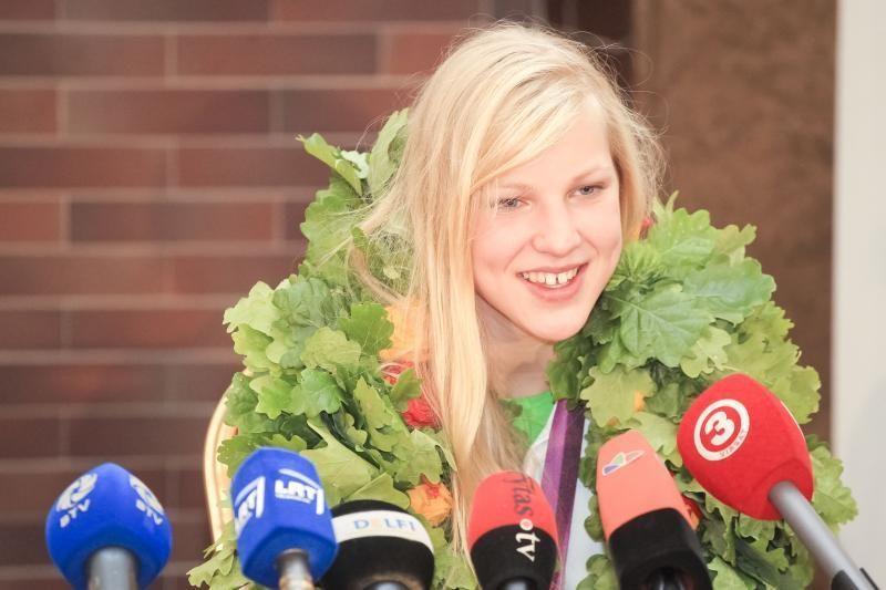 Lietuvos plaukikų reitingo lyderė – R.Meilutytė