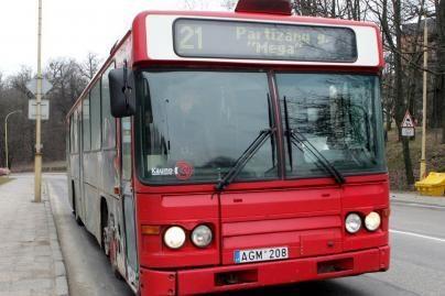 Prašoma pratęsti 21-ojo autobuso maršrutą
