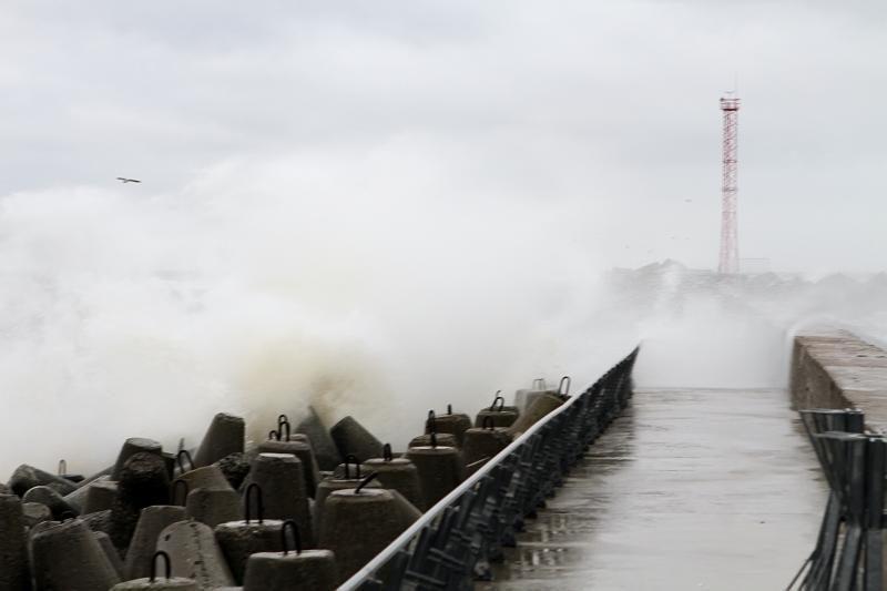 Šeštadienio naktį Vakarų Lietuvoje siautės smarkus vėjas (papildyta)