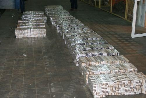 Sulaikyti vilkikai, vežę beveik pusės milijono litų vertės kontrabandą