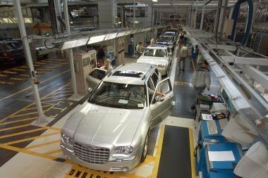 """Priverstinės """"Chrysler"""