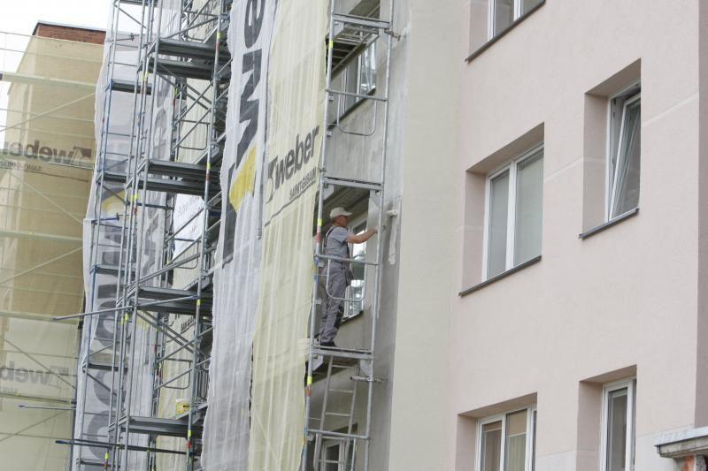 Senų namų renovacija stabdys naujas statybas?