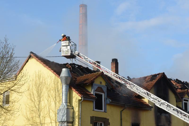 Vokietijoje per gaisrą žuvo septyni vaikai (atnaujinta)