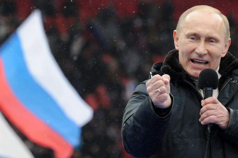 V.Putinas pranašauja sau pergalę per prezidento rinkimus