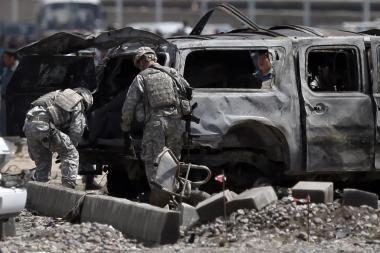 Afganistane per sprogdinimus žuvo penki vaikai, o dar trys žmonės buvo sužeisti