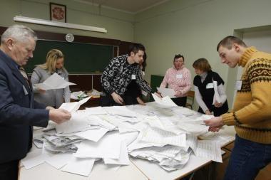 Klaipėdoje jau prasidėjo rinkėjų balsų skaičiavimas (papildyta)