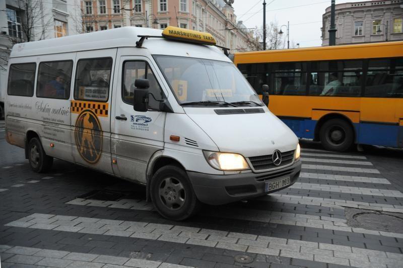 Vilniuje į gatves sugrįš kai kurie mikroautobusai