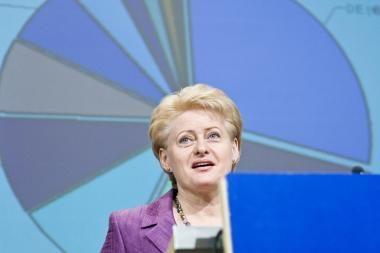 Premjerės postas D.Grybauskaitei - populistiniai šūkiai