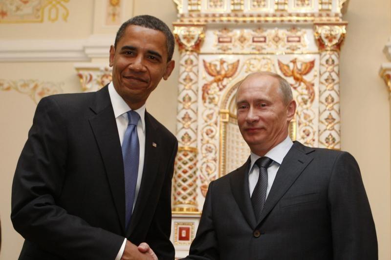 B.Obama ir V.Putinas paragino užbaigti kruviną Sirijos konfliktą