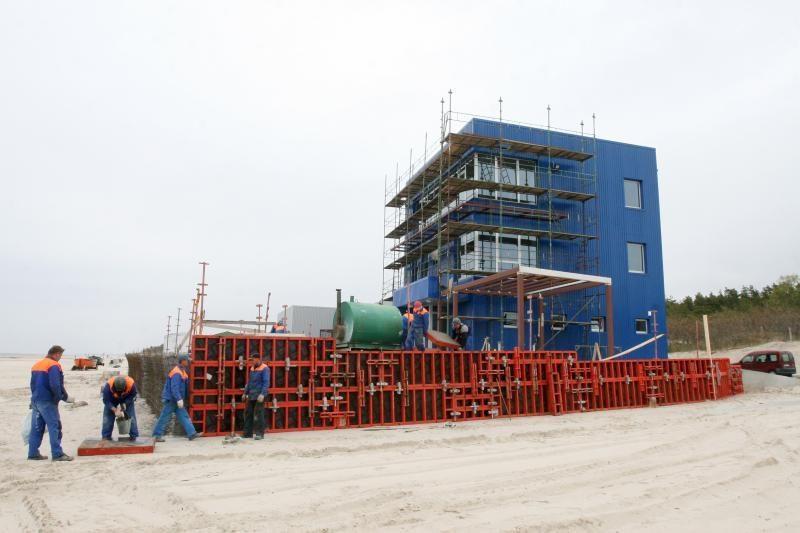 Rekonstruojant Palangos gelbėjimo stotį pažeisti įstatymai