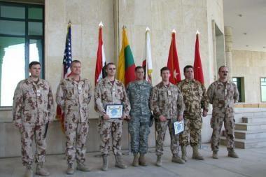 Lietuva baigė dalyvavimą vienoje operacijoje Irake
