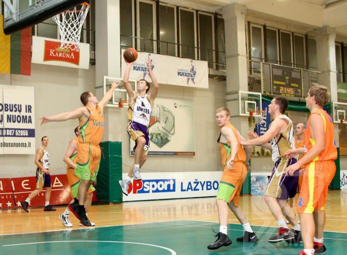 Kauno krepšinio mėgėjų lygoje – lemiamos kovos