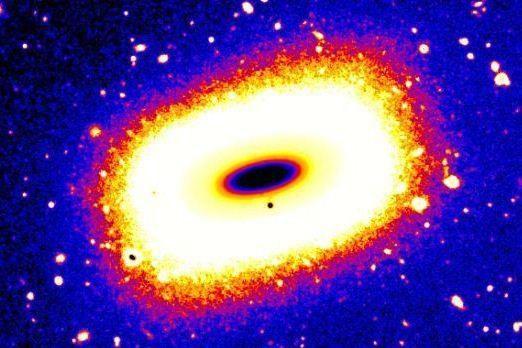 Kvadratinė galaktika: kaip tai įmanoma?