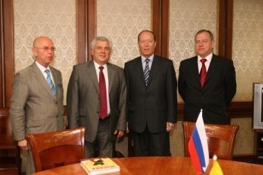 Klaipėdoje viešėjo Rusijos diplomatai