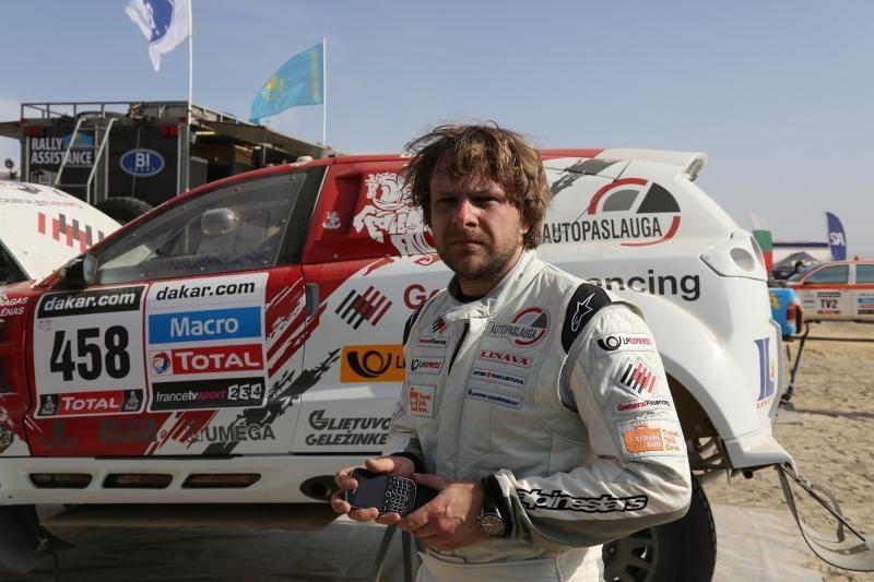 Pragariško Dakaro ralio finišas: B. Vanagas kovojo iki pabaigos