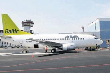 """Tarp Rygos ir Vilniaus skraidys didesni """"airBaltic"""