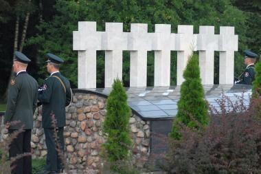 Lietuvoje minimos 19-osios Medininkų tragedijos metinės