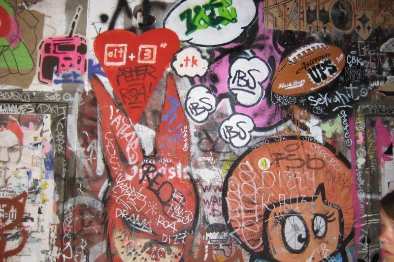Vilniuje sulaikyta grafičius piešusi Rusijos pilietė
