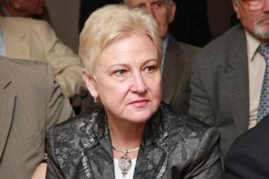 Parlamentaro R.Sinkevičiaus elgesys užkliuvo Seimo vadovei