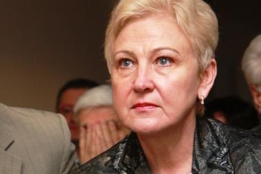 I.Degutienė sako neproteguojanti savo vyro į onkologijos instituto vadovus
