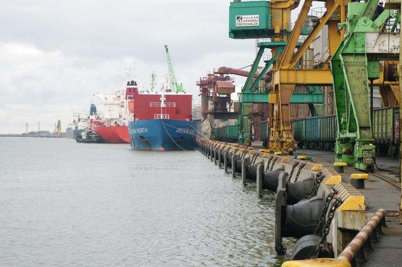 Klaipėdos uosto rekordai ir dėl augančio tranzito