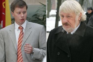 A.Kupčinskas ir V.Šustauskas susikibo dėl šmeižto (papildyta)