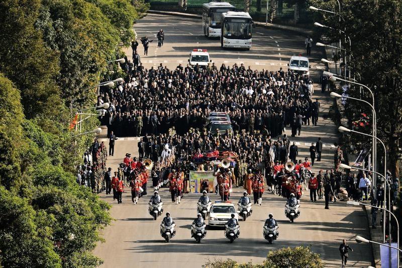 Etiopijoje prasidėjo velionio premjero M.Zenawi laidotuvės