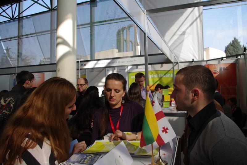 Klaipėdos universitetas – Gruzijos studijų mugėje