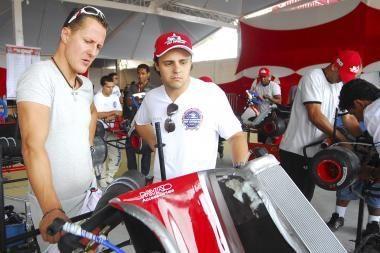 F.Massa sugrįžo į trasą