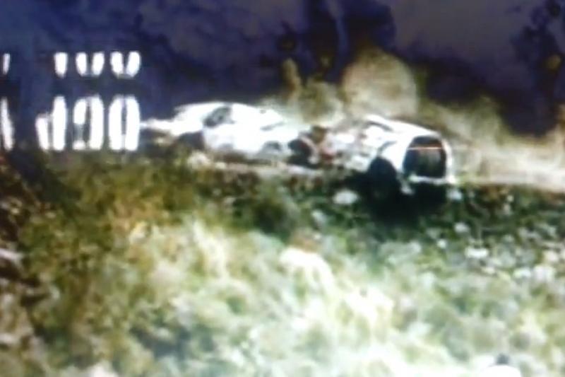 Dakaro ralyje B. Vanago automobilis pakibo ant skardžio (rezultatai)