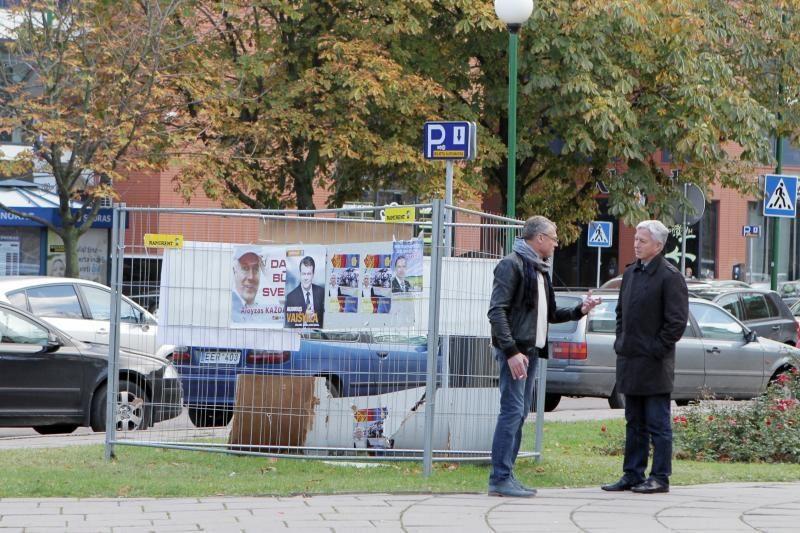 Kandidatams į Seimą uždrausta reklamuotis