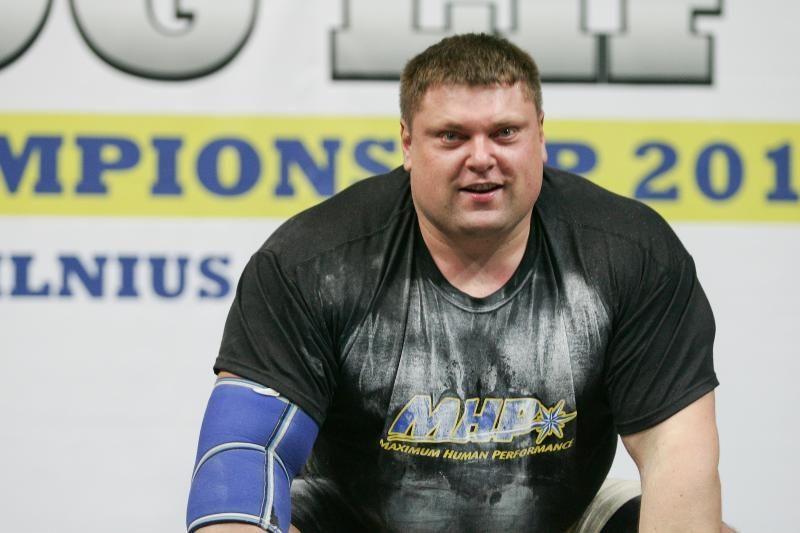 Ž.Savickas 13-tą kartą iškovojo Lietuvos galiūno titulą