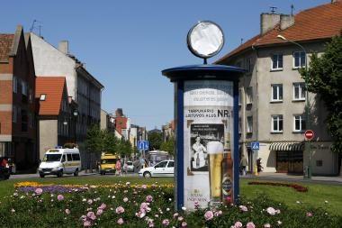Netikslų laiką rodantį laikrodį remontuos Vokietijoje