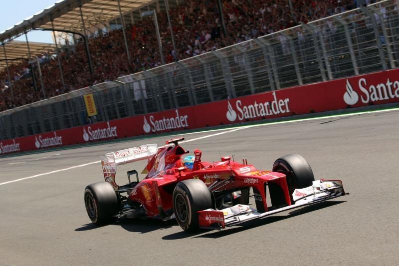 Silverstoune pirmasis startuos F.Alonso