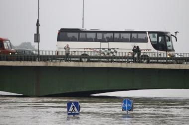 Vidurio Europą siaubia dideli potvyniai (papildyta)